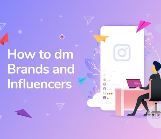 social media networking DM brands instagram