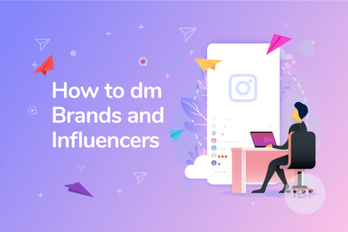 social media networking DM brands instagram